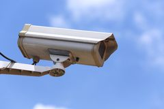 Câmera do CCTV Fotografia de Stock Royalty Free