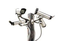 Câmera do CCTV da segurança Fotografia de Stock
