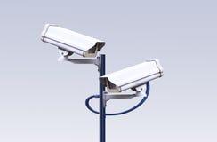 Câmera do CCTV da segurança Fotos de Stock