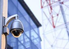 Câmera do CCTV da segurança Imagens de Stock