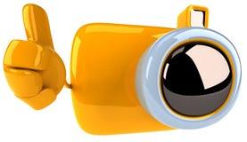 Câmera do divertimento Imagem de Stock Royalty Free
