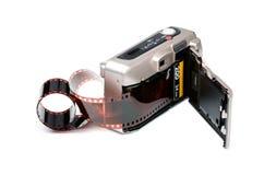 Câmera do filme Imagem de Stock