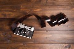 Câmera do filme Foto de Stock Royalty Free