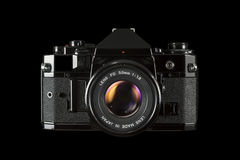 Câmera do filme de SLR 35mm Fotos de Stock Royalty Free