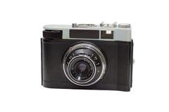 Câmera do filme do vintage isolada no fundo branco Imagens de Stock