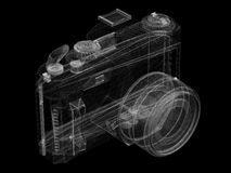 Câmera do fio Ilustração Stock