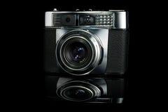 Câmera do Rangefinder da película do vintage Fotografia de Stock