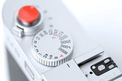 Câmera do rangefinder do close up ilustração royalty free