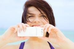 Câmera do telefone Fotos de Stock