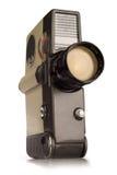 Câmera do vintage 8mm Foto de Stock