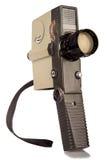 Câmera do vintage 8mm Imagem de Stock