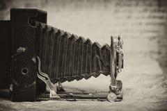 Câmera do vintage, artigo raro fotografia de stock royalty free