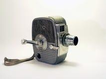 Câmera do vintage - câmara de vídeo 2 de 8mm fotografia de stock
