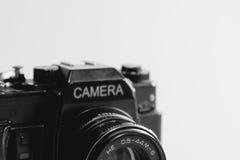 Câmera do vintage, câmera clássica foto de stock