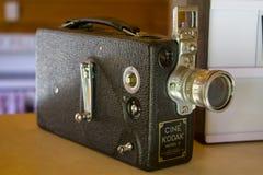 Câmera do vintage 16mm imagem de stock
