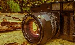 Câmera do vintage 35mm SLR Imagens de Stock Royalty Free