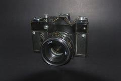 Câmera do vintage 35mm SLR Imagem de Stock