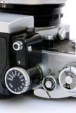 Câmera dos anos sessenta SLR imagem de stock