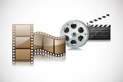 Câmera e ação do rolo Imagens de Stock