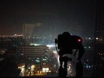 Câmera e chuva Imagem de Stock
