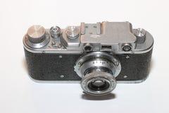 Câmera isolada do vintage Imagens de Stock