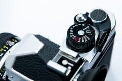 Câmera isolada no branco. Fotografia de Stock Royalty Free