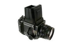 Câmera média do formato Imagens de Stock Royalty Free