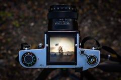Câmera média do formato Foto de Stock Royalty Free