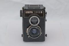 Câmera média LUBITEL 166B do formato Imagens de Stock Royalty Free