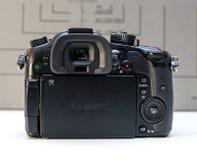 Câmera mirrorless de Panasonic Lumix DMC-GH4 Imagens de Stock