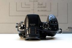 Câmera mirrorless de Panasonic Lumix DMC-GH4 Imagem de Stock
