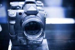 Câmera moderna Fotografia de Stock