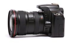 Câmera moderna de DSLR Fotografia de Stock