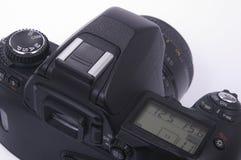 Câmera moderna de SLR Fotografia de Stock Royalty Free