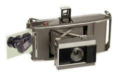 Câmera nova da câmera velha Fotografia de Stock