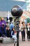 Câmera Omnidirectional - câmera de 360 graus Fotos de Stock Royalty Free