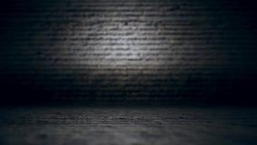 Câmera para a frente em superfícies desiguais do cimento filme
