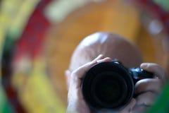 A câmera para tomar uma foto fotografia de stock royalty free