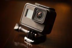 Câmera pequena da ação fotografia de stock royalty free