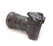 Câmera profissional de Digitas Imagens de Stock