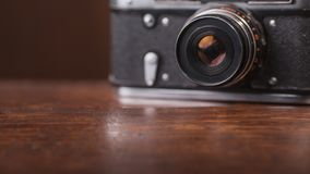 Câmera retro foto de stock royalty free