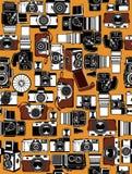 Câmera retro ilustração do vetor
