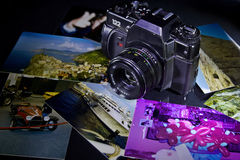 Câmera retro Fotos de Stock Royalty Free