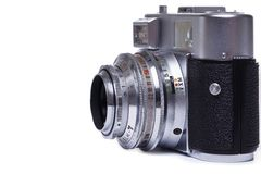 Câmera retro Imagens de Stock Royalty Free