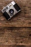 Câmera retro Fotografia de Stock