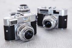 Câmera retro Imagem de Stock