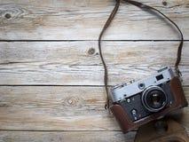 Câmera retro da foto da película Fotografia de Stock