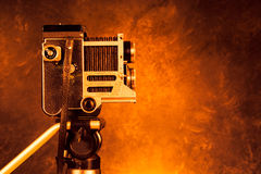 Câmera retro do vintage Imagem de Stock