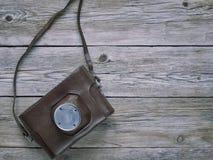 Câmera retro velha Fotografia de Stock Royalty Free