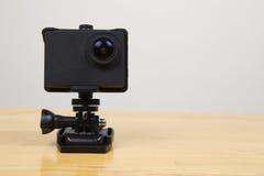 Câmera robusta pequena da ação Foto de Stock